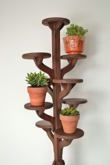 Awesome Stand Wooden Plant Ideas10