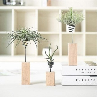 Awesome Stand Wooden Plant Ideas16