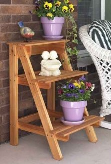Awesome Stand Wooden Plant Ideas18
