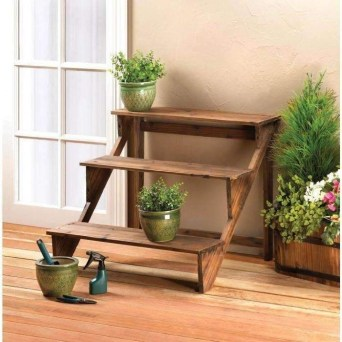 Awesome Stand Wooden Plant Ideas36