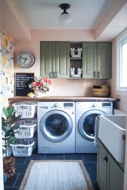 Brilliant Small Laundry Room Decor Ideas08