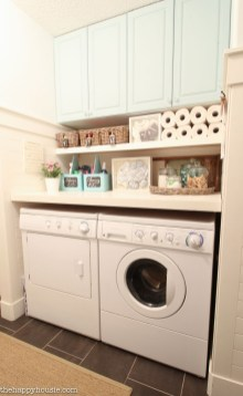 Brilliant Small Laundry Room Decor Ideas19