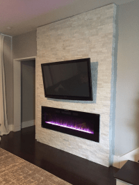 Cool Electric Fireplace Designs Ideas For Living Room08