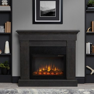 Cool Electric Fireplace Designs Ideas For Living Room24