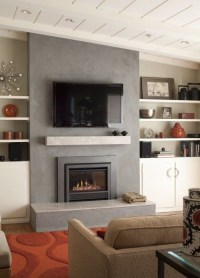 Cool Electric Fireplace Designs Ideas For Living Room29