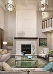 Cool Electric Fireplace Designs Ideas For Living Room35