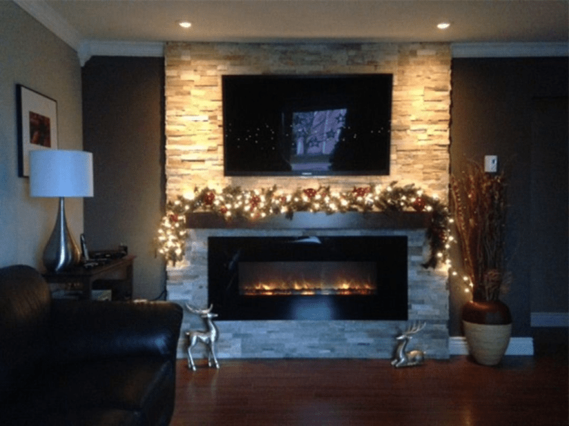 Cool Electric Fireplace Designs Ideas For Living Room39