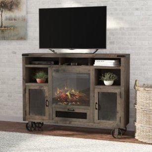 Cool Electric Fireplace Designs Ideas For Living Room40