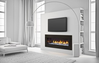 Cool Electric Fireplace Designs Ideas For Living Room44