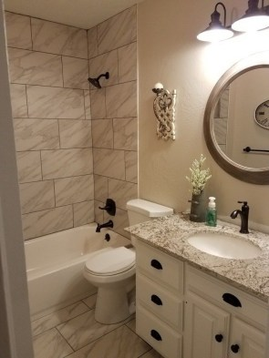 Incredible Small Bathroom Remodel Ideas26