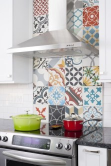 Latest Kitchen Backsplash Tile Ideas33