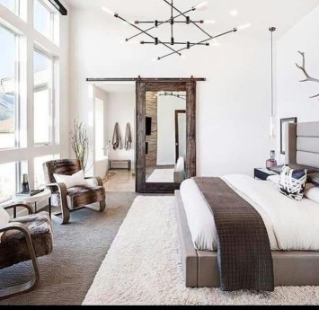 Lovely Masculine Boho Bedroom Designs33