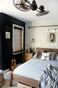 Lovely Masculine Boho Bedroom Designs34