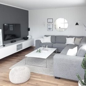 Perfect Scandinavian Living Room Design Ideas19