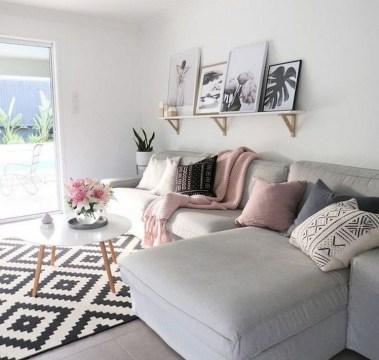Perfect Scandinavian Living Room Design Ideas23