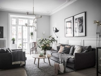 Perfect Scandinavian Living Room Design Ideas27