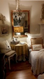 Pretty French Country Living Room Design Ideas07