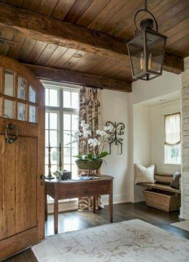 Pretty French Country Living Room Design Ideas11