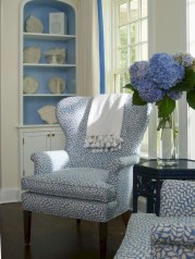 Pretty French Country Living Room Design Ideas23
