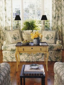 Pretty French Country Living Room Design Ideas35