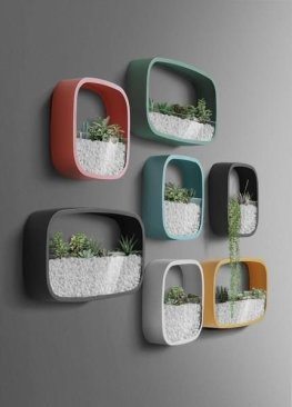 Simple Wall Plants Decorating Ideas07