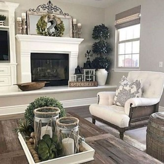 Smart Farmhouse Living Room Design Ideas02