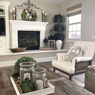 Smart Farmhouse Living Room Design Ideas02