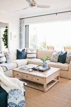 Smart Farmhouse Living Room Design Ideas15