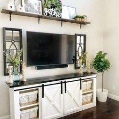 Smart Farmhouse Living Room Design Ideas27