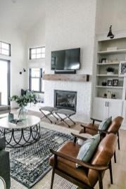 Smart Farmhouse Living Room Design Ideas35