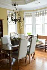 Wonderful French Country Dining Room Table Decor Ideas36