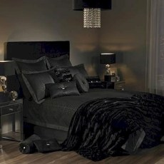 Amazing Black Bedroom Design Ideas For Home20
