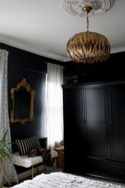 Amazing Black Bedroom Design Ideas For Home36