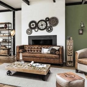 Creative Industrial Living Room Designs Ideas03