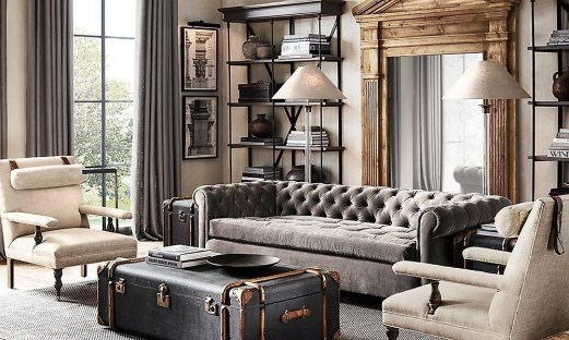 Creative Industrial Living Room Designs Ideas24