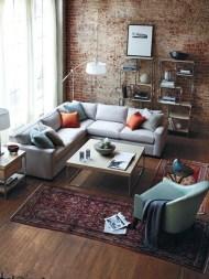 Creative Industrial Living Room Designs Ideas26