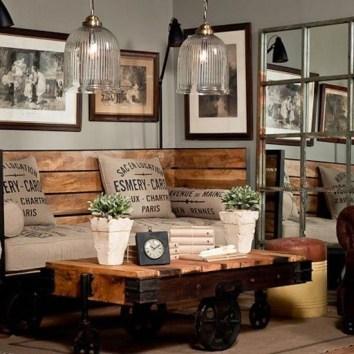 Creative Industrial Living Room Designs Ideas32