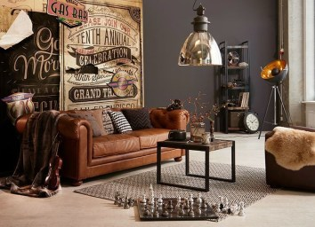 Creative Industrial Living Room Designs Ideas33