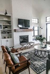 Creative Industrial Living Room Designs Ideas39