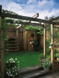Elegant Play Garden Design Ideas For Kids33