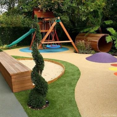 Elegant Play Garden Design Ideas For Kids40