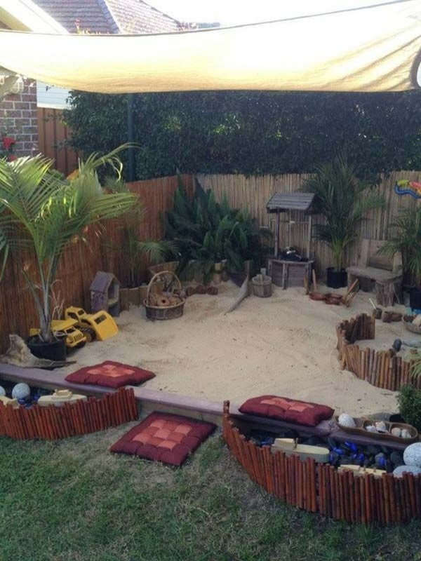 Elegant Play Garden Design Ideas For Kids43