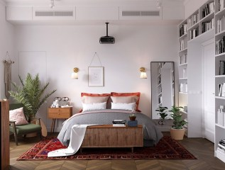 Excellent Scandinavian Bedroom Interior Design Ideas30