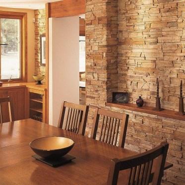 Impressive Stone Veneer Wall Design Ideas39