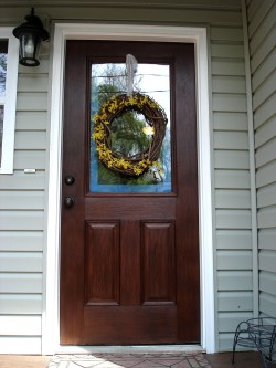 Perfect Painted Exterior Door Ideas28