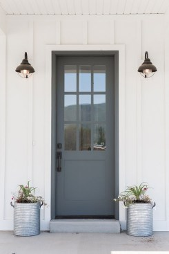 Perfect Painted Exterior Door Ideas43