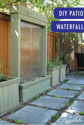 Stylish Outdoor Water Walls Ideas For Backyard13
