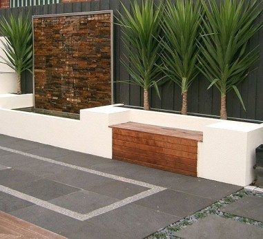 Stylish Outdoor Water Walls Ideas For Backyard29