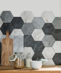 Unique Wall Tiles Design Ideas For Living Room03