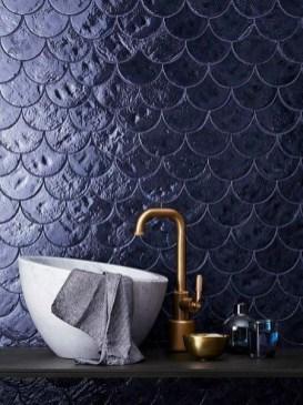 Unique Wall Tiles Design Ideas For Living Room16